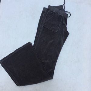 Juicy Couture Lounge Pants Velour Brown Size M